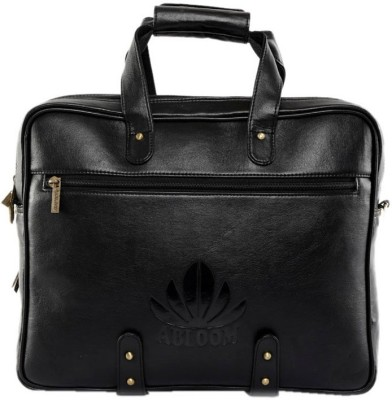 ABLOOM 00215 Medium Briefcase - For Men(Black)