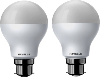 Havells 10 W Standard B22 LED Bulb(White, Pack of 2)