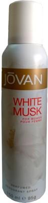 Jovan White Musk Deodorant Spray - For Girls, Women(150 ml)