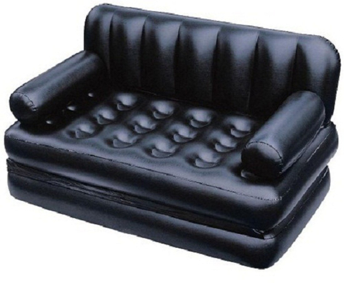 View Best Way PVC 3 Seater Inflatable Sofa(Color - black) Furniture (Bestway)