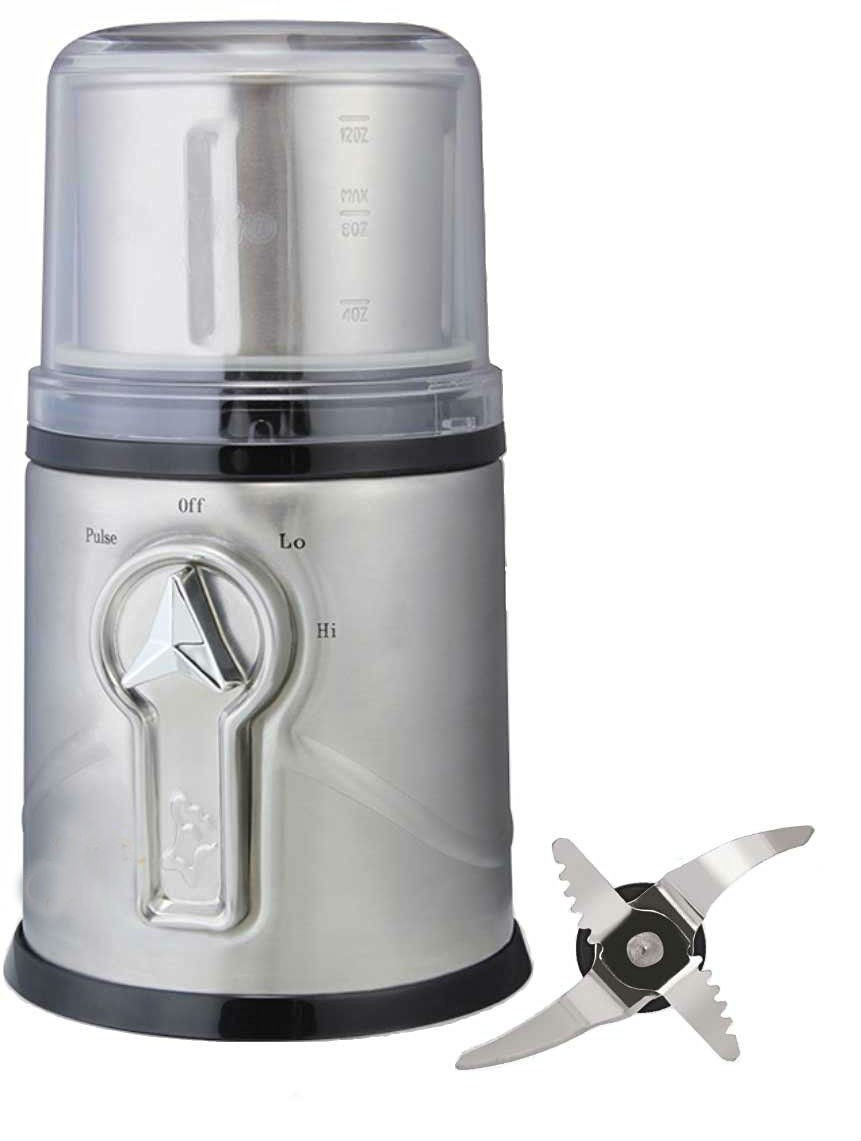 Shrih Stainless Steel Wet and Dry Coffee, Spices and Herbs 350 W Mixer Grinder(Multicolor, 1 Jar)
