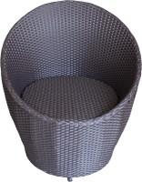 Mavi Cane Outdoor Chair(Finish Color - Black)