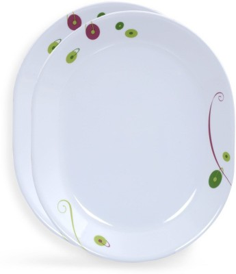 Corelle India Collection Royal Sequins Tray Set(Pack of 2) at flipkart
