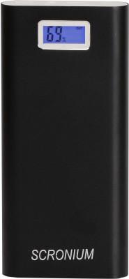 Scronium S-751 22000 mAh Power Bank(Black, Lithium-ion)