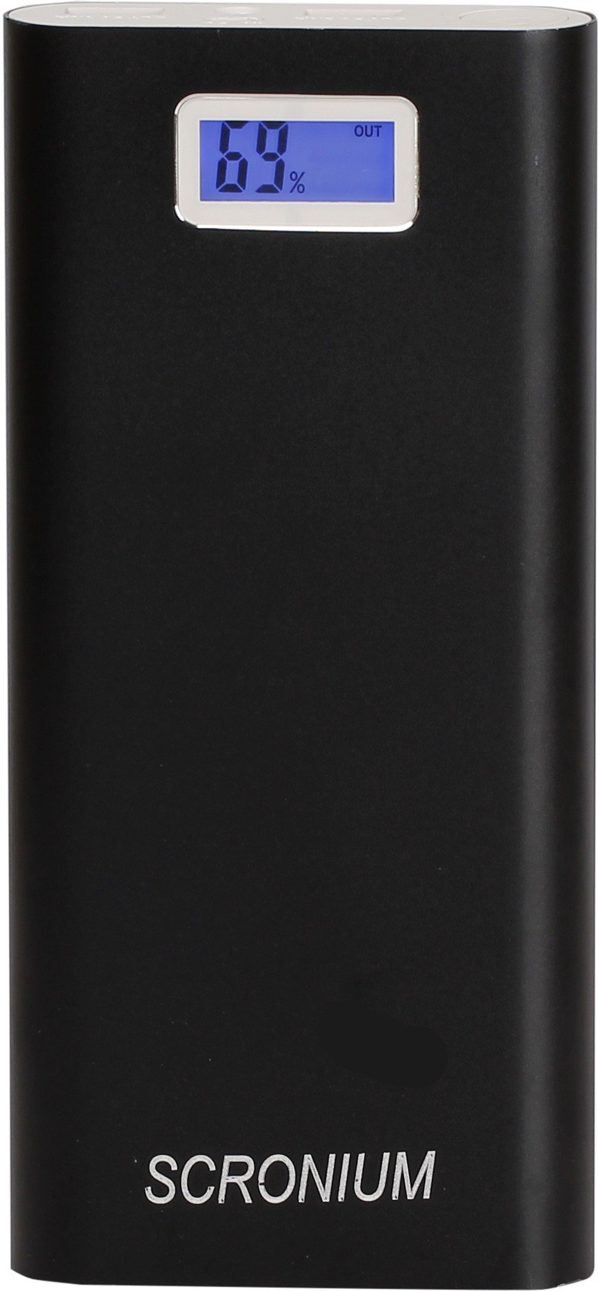 Scronium S-25  with Samsung cells 25000 mAh Power Bank(Black, Lithium-ion)