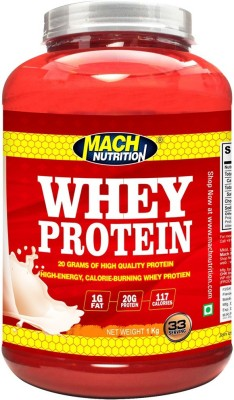 Mach Nutrition Clocolate Whey Protein(1000 g, Chocolate)