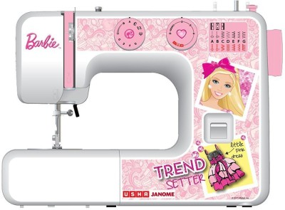 Usha My Fab Barbie Electric Sewing Machine( Built-in Stitches 13)