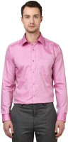 Park Avenue Formal Shirts (Men's) - Park Avenue Men's Solid Formal Pink Shirt
