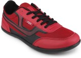 F22 Casual Sneakers (Red, Black)