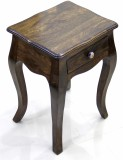 TimberTaste LOPAZ Solid Wood Side Table ...