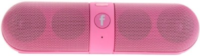 rooq pillmc09 Portable Bluetooth Mobile/Tablet Speaker(Pink, 2.1 Channel)
