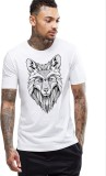 Young Trendz Printed Men's Round Neck Wh...