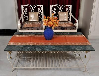 Lal Haveli Multicolor 198 cm Table Runner(Silk) at flipkart
