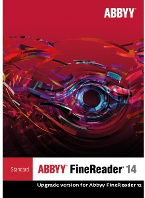 Abbyy Fine reader 14 standard upgrade from 12 to 14(Perpetual, 1 PC)