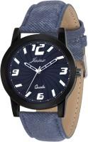 JAINX JM229 Swirl Blue Dial Analog Watch For Men