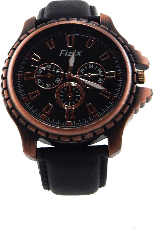 Fizix NBF I Black Analog Watch For Men