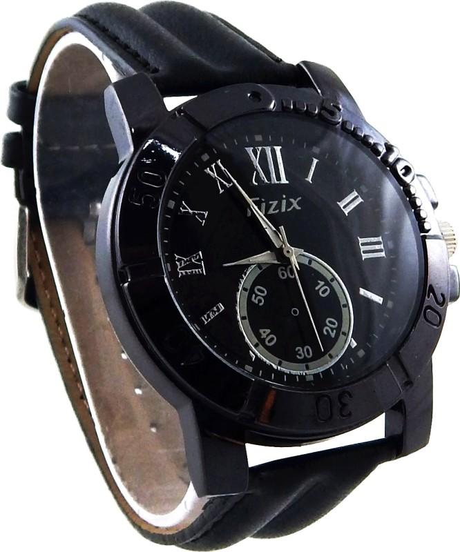 Fizix NBF B Black Analog Watch For Men