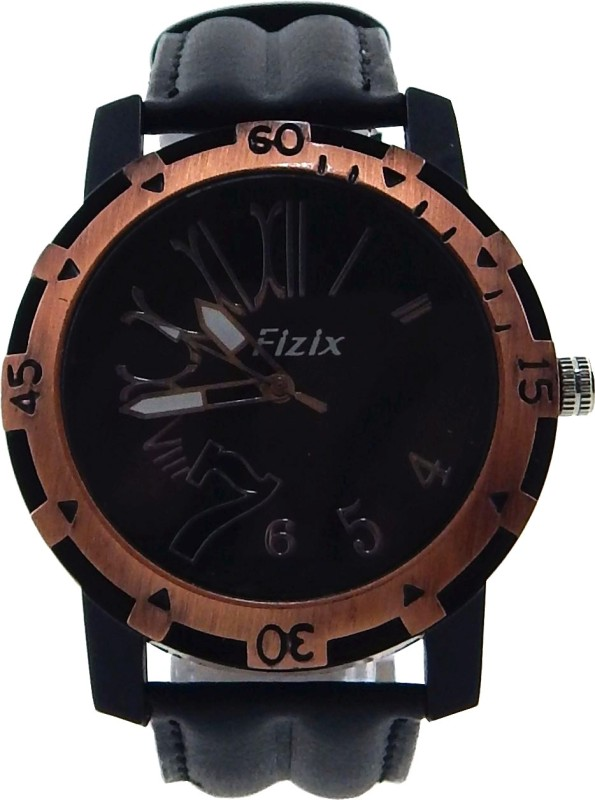 Fizix BF A Black Analog Watch For Men