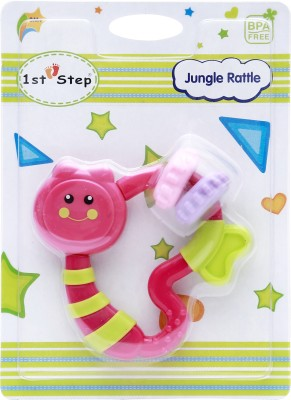 1st Step Jungle Rattle Rattle(Purple)