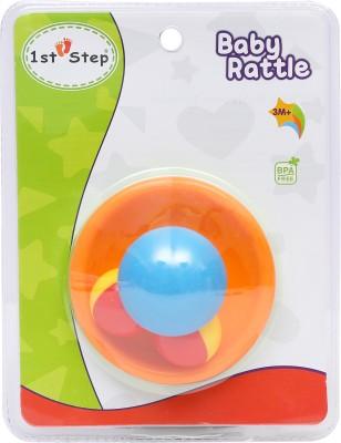 1st Step Mushroom Tumbler Rattle(Orange, Blue)