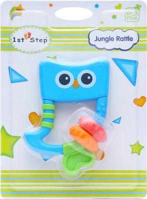 1st Step Jungle Rattle Rattle(Blue)