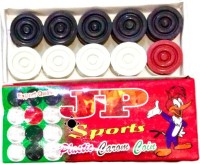 Jp sports Plastic c Carrom Pawns(Pack of 20)