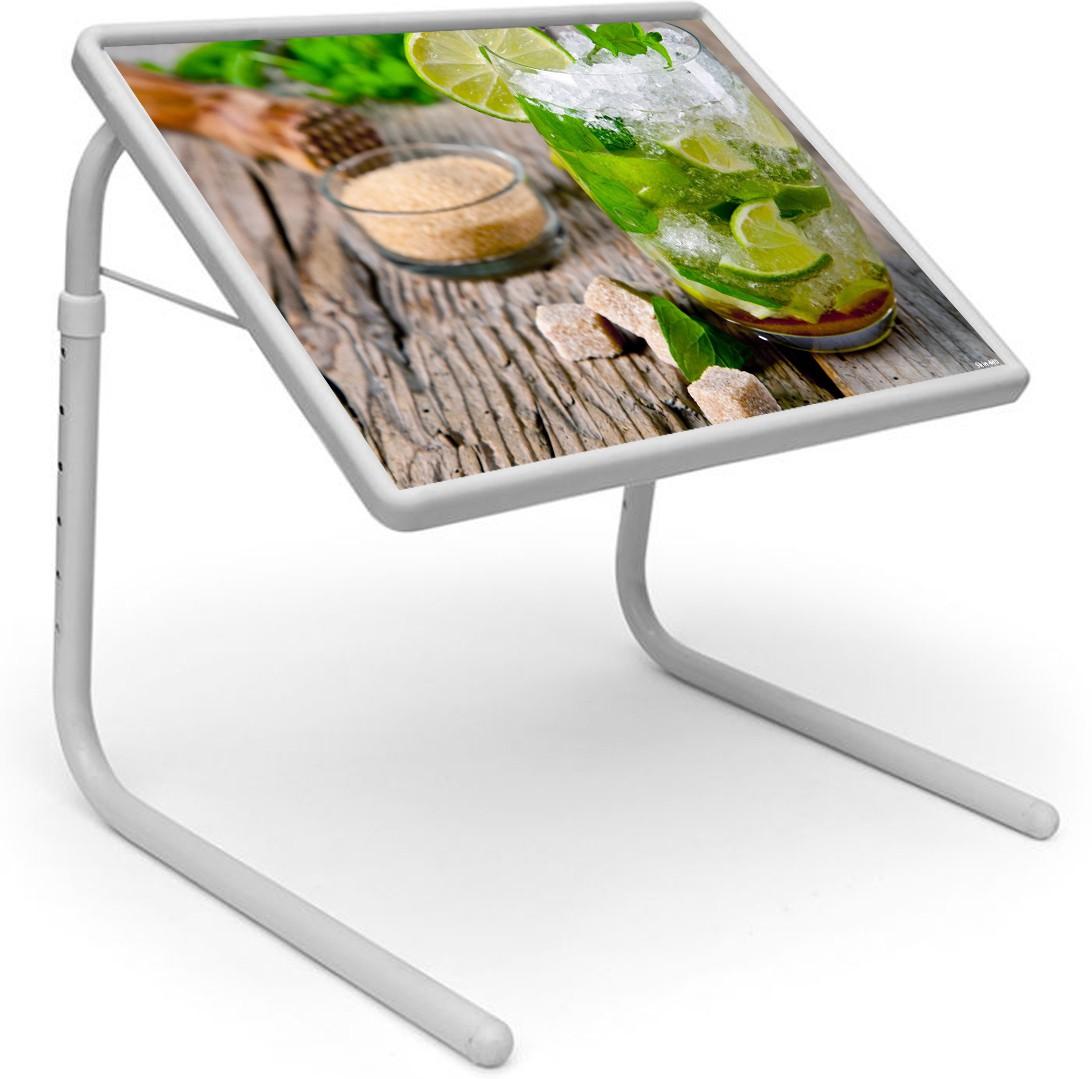 View Shopper 52 Metal Portable Laptop Table(Finish Color - Multicolor) Furniture (Shopper52)