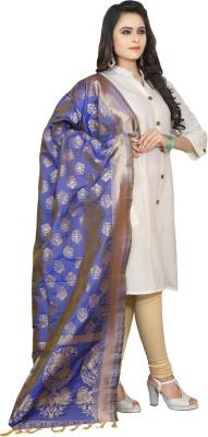 Style U Jacquard, Tussar Silk Embellished, Woven Women's Dupatta at flipkart