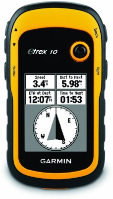 Garmin Etrex 10 GPS Device(Yellow)