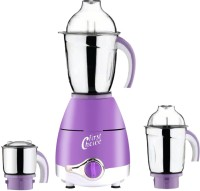 First Choice Latest Upgrade LPMG17_2 600 W Mixer Grinder(Lavender, 3 Jars)