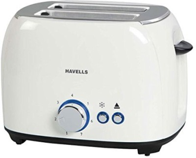 Havells Crust 800 W Pop Up Toaster(White)