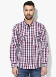 COBB Men's Checkered Casual Multicolor S...