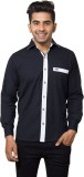 Nauhwar Men's Solid Casual Black, White ...