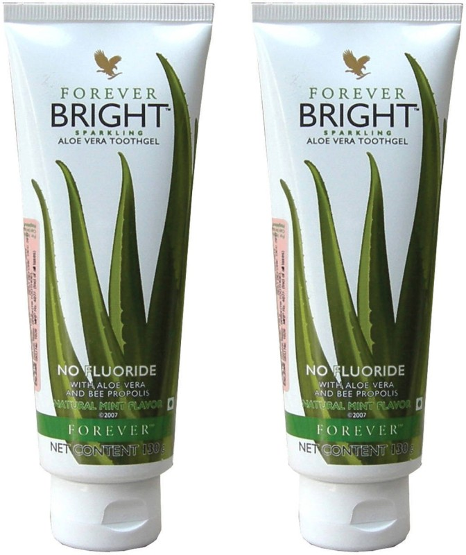 Forever Bright Aloe Vera Toothgel Natural Mint Toothpaste Mint Toothpaste(260 g)
