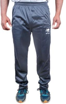 HPS Sports Solid Men & Women Silver Track Pants at flipkart