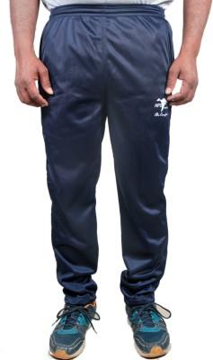 HPS Sports Solid Men & Women Dark Blue Track Pants at flipkart