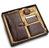 Holboro Men Brown Artificial Leather Wal...