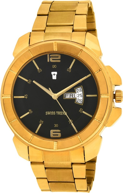 Swiss Trend ST2246 Robust Day Date Analog Watch For Men