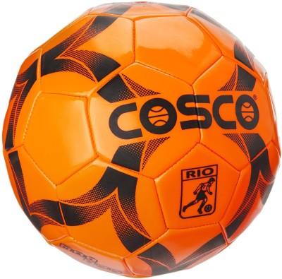 Cosco Rio Football - Size: 3, Diameter: 18.5 cm(Pack of 1, Orange)
