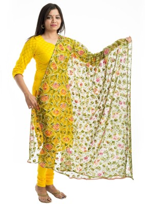 Lodestone Net Printed Women's Dupatta at flipkart