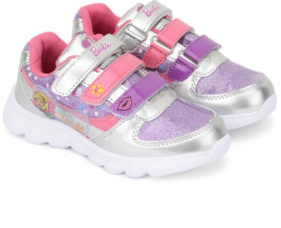 Barbie Girls Velcro Casual Boots(Multicolor)