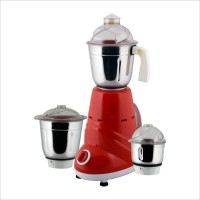 Anjalimix Zobo 600 W Mixer Grinder(Red, 3 Jars)