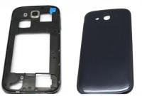 DELMOHUT Full Housing Body Panel Faceplate For Samsung Galaxy Grand 9082 Black Back Panel