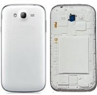 DELMOHUT Full Housing Body Panel Faceplate For Samsung Galaxy Grand 9082 White Back Panel