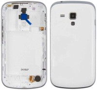 DELMOHUT New Housing Body Panel For Samsung Galaxy S duos s7562 - White Back Panel