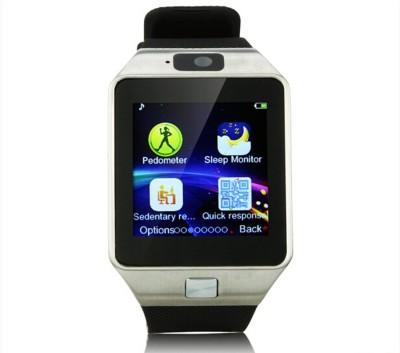 Wonder World ™ Mobile Bluetooth SIM Card DZ-09 Multicolor Smartwatch(Multicolor Strap Regular) at flipkart