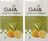 GAIA Lemon 25TB (Pack of 2) Green Tea (5...