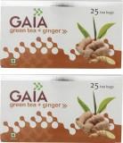 GAIA Ginger 25TB (Pack of 2) Green Tea (...