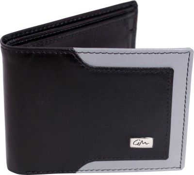 Gentleman Men Multicolor Genuine Leather Wallet(6 Card Slots)