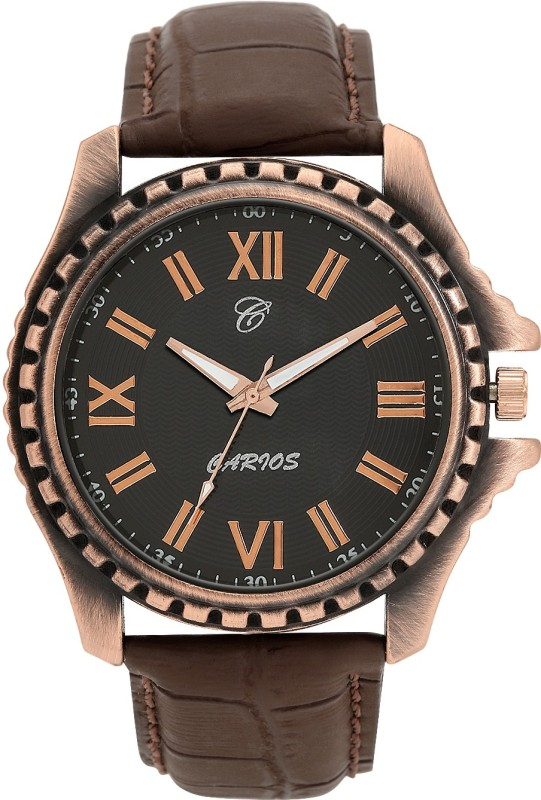 CARIOS CA1001 Textured Analog Watch For Men